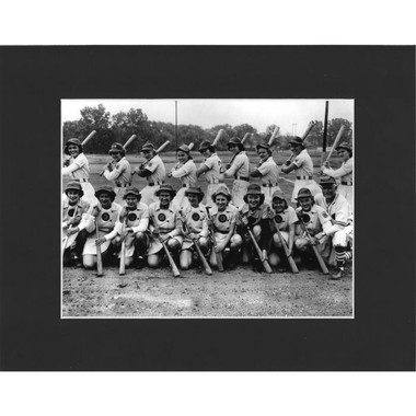 Matted 8x10 Photo- 1949 South Bend Blue Sox