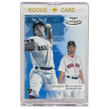 Andrew Benintendi Boston Red Sox 2017 Topps Gold Label # 48 Rookie Card