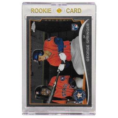 George Springer Houston Astros 2014 Topps Chrome # 138 Rookie Card