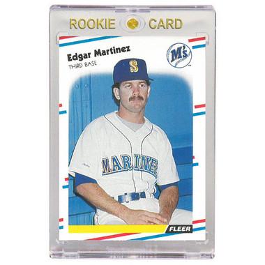 Edgar Martinez Seattle Mariners 1988 Fleer # 378 Rookie Card