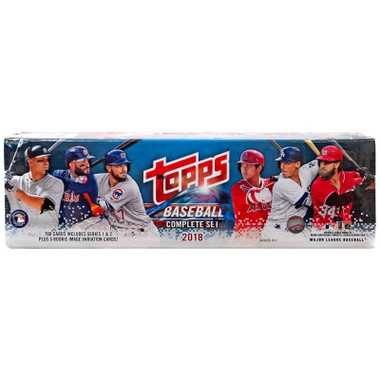 Topps 2018 Baseball Cards Factory Complete Series 1 & 2 Set