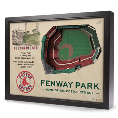Boston Red Sox 25 Layer 25 x 19 StadiumViews 3D Wall Art