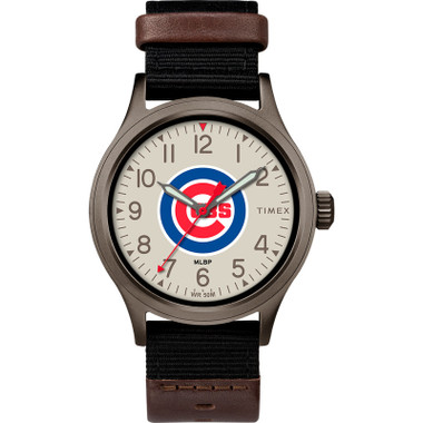 Timex Men's Chicago Cubs Clutch Watch