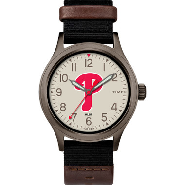 Timex Men's Phildadelphia Phillies Clutch Watch