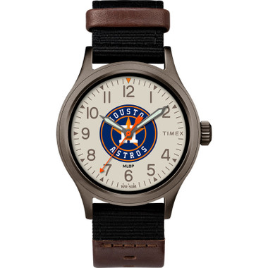 Timex Men's Houston Astros Clutch Watch