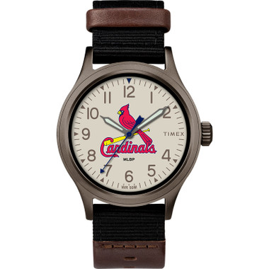 Timex Men's St. Louis Cardinals  Clutch Watch