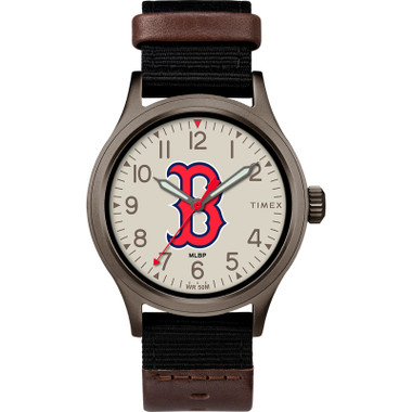 Timex Men's Boston Red Sox Clutch Watch