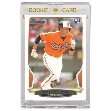 Manny Machado Baltimore Orioles 2013 Bowman Draft # 4 Rookie Card
