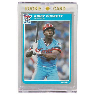 Kirby Puckett Minnesota Twins 1985 Fleer # 286 Rookie Card