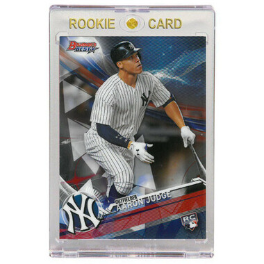 Aaron Judge New York Yankees 2017 Bowman's Best # 1 Rookie Card