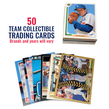 Los Angeles Dodgers 50 Card Team Baseball Card Lot