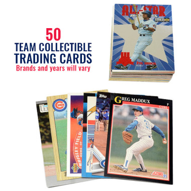 Chicago Cubs 50 Card Team Baseball Card Lot