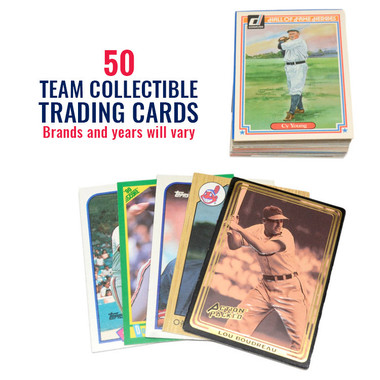 Cleveland Indians 50 Card Team Baseball Card Lot