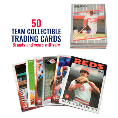 Cincinnati Reds 50 Card Team Baseball Card Lot