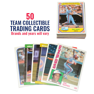 Montreal Expos 50 Card Team Baseball Card Lot