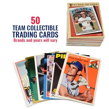 Pittsburgh Pirates 50 Card Team Baseball Card Lot