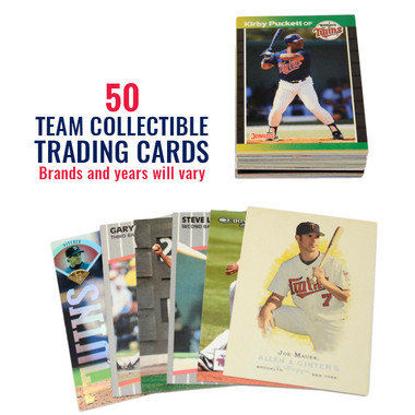 Minnesota Twins 50 Card Team Baseball Card Lot