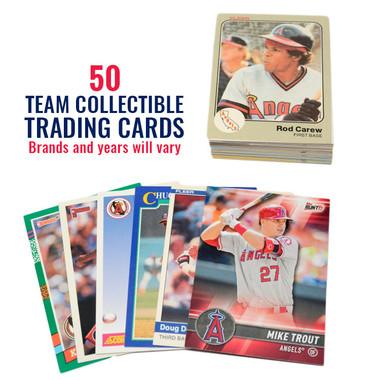 Los Angeles Angels 50 Card Team Baseball Card Lot
