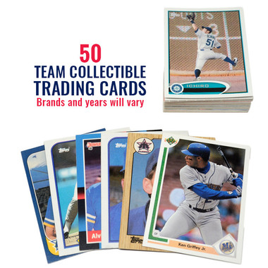 Seattle Mariners 50 Card Team Baseball Card Lot