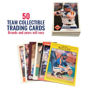 Houston Astros 50 Card Team Baseball Card Lot