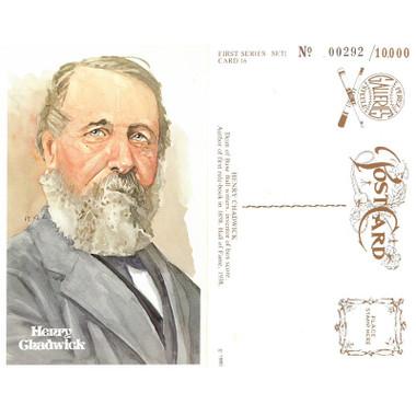 Perez-Steele Henry Chadwick Limited Edition Postcard
