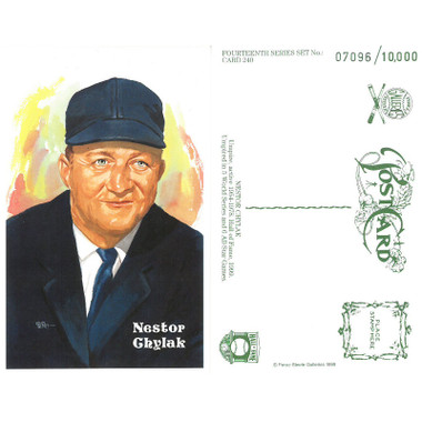 Perez-Steele Nestor Chylak Limited Edition Postcard