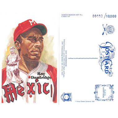 Perez-Steele Ray Dandridge Limited Edition Postcard