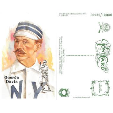 Perez-Steele George Davis Limited Edition Postcard