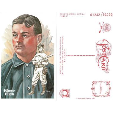 Perez-Steele Elmer Flick Limited Edition Postcard