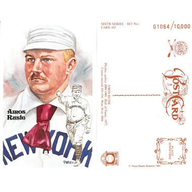 Perez-Steele Amos Rusie Limited Edition Postcard