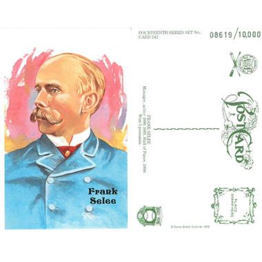 Perez-Steele Frank Selee Limited Edition Postcard