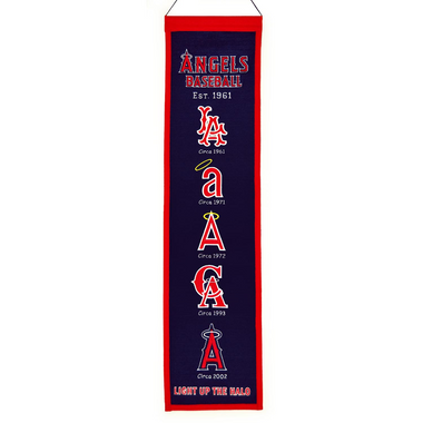 Winning Streak Los Angeles Angels Heritage Banner