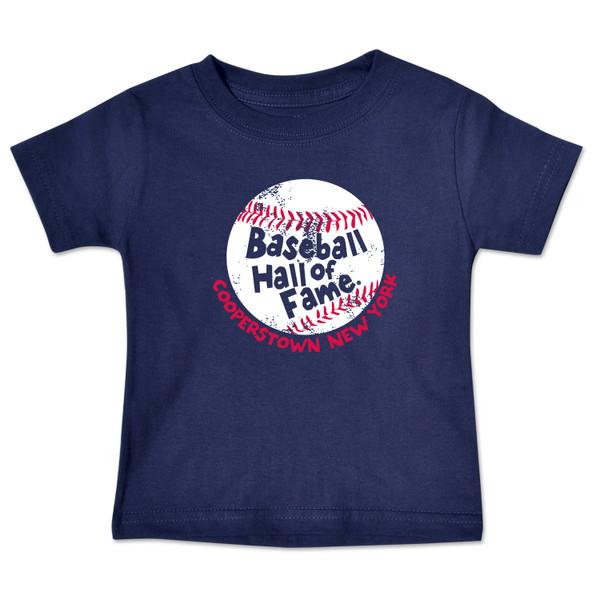 Toddler Baseball Hall of Fame Navy Baseball T-Shirt