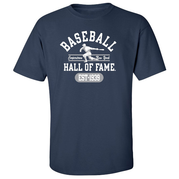 Men's Baseball Hall of Fame Navy State Champ T-Shirt