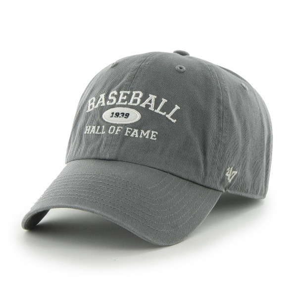 Men's '47 Brand Baseball Hall of Fame Gray Established Arch Adjustable Cap