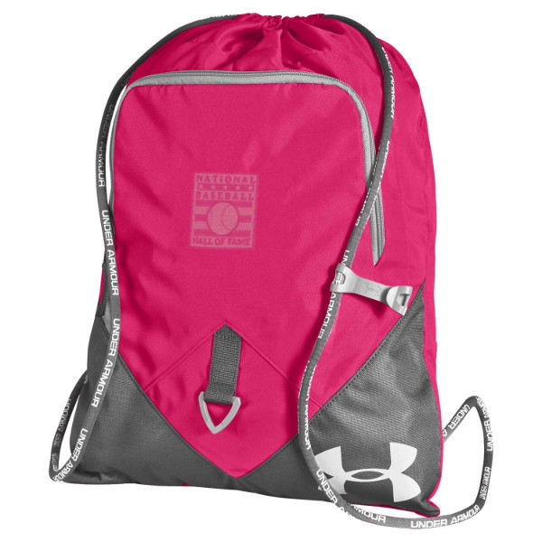 Under Armour Baseball Hall of Fame Pink Back Sack