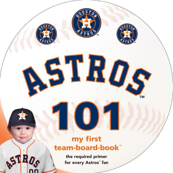 Houston Astros 101 Baby Board Book