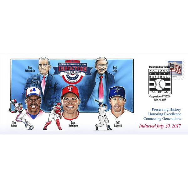Photo File Baseball Hall of Fame 2017 Induction Cachet