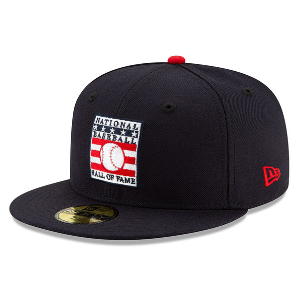 Men's New Era Baseball Hall of Fame Navy 59FIFTY Fitted Cap