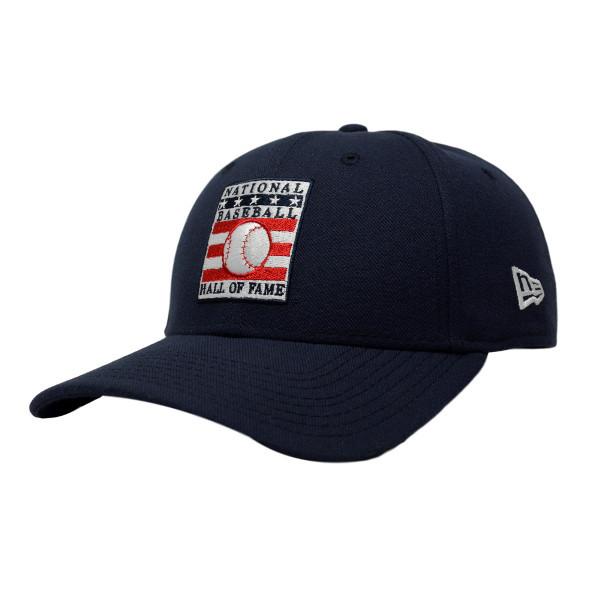 Men's New Era Baseball Hall of Fame Navy League 9FORTY Adjustable Cap
