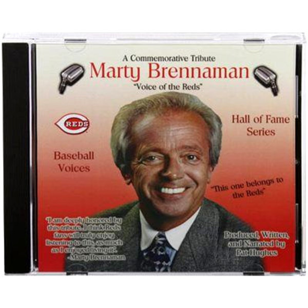 Baseball Voices: Marty Brennanman, Voice of the Reds Audio CD