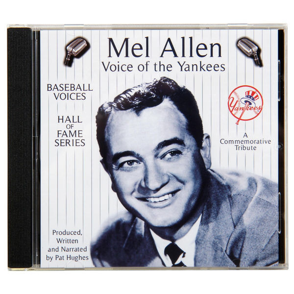 Baseball Voices: Mel Allen, Voice of the Yankees Audio CD