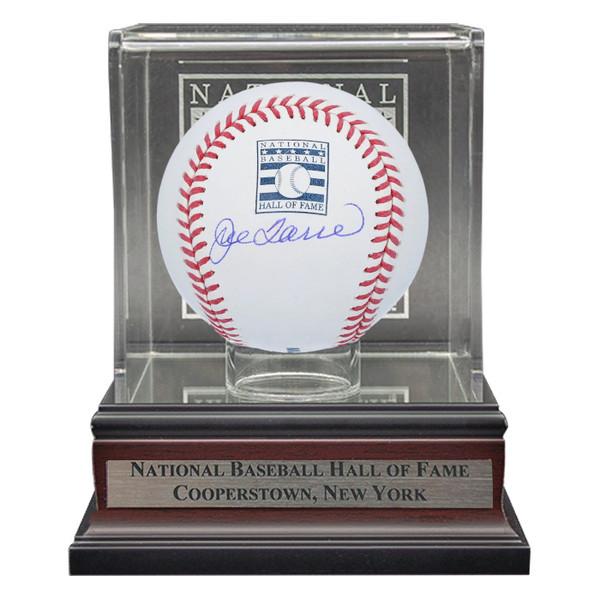 Joe Torre Autographed Hall of Fame Logo Baseball with Case (MLB/Fanatics)
