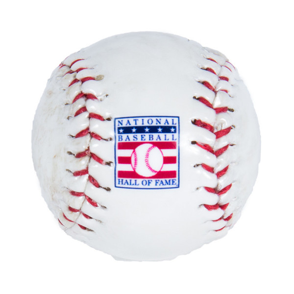 Baseball Hall of Fame Mini Logo Baseball Magnet