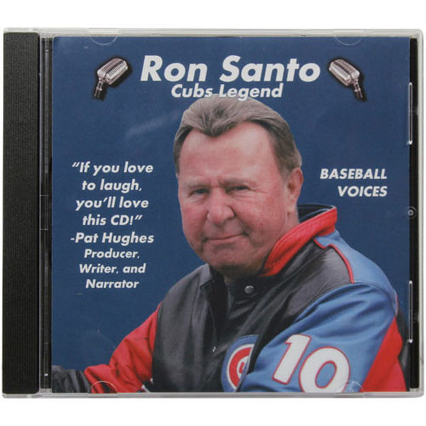 Baseball Voices: Ron Santo, Cubs Legend Audio CD