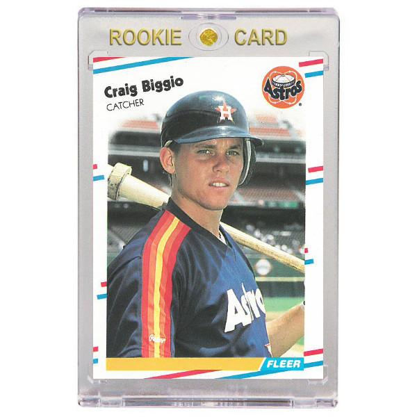 Craig Biggio Houston Astros 1988 Fleer Update # 89 Rookie Card