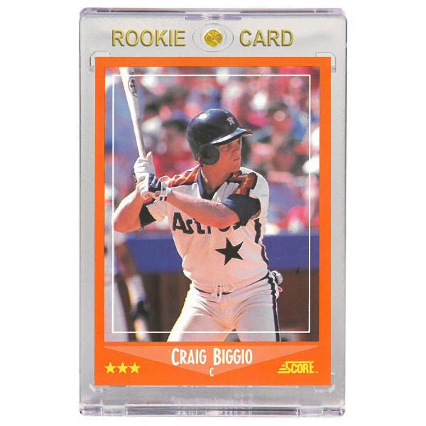Craig Biggio Houston Astros 1988 Score Rookie Traded # 103 Rookie Card