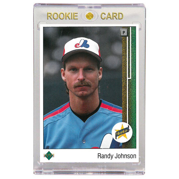 Randy Johnson Montreal Expos 1989 Upper Deck # 25 Rookie Card