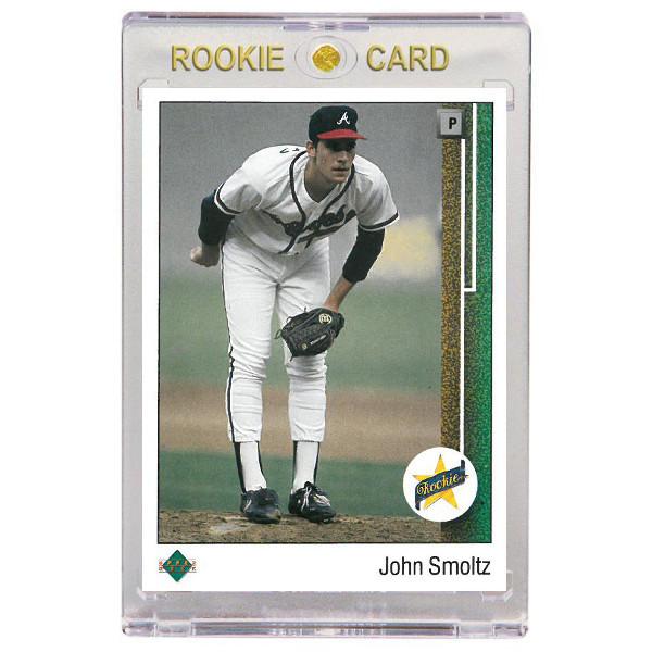 John Smoltz Atlanta Braves 1989 Upper Deck # 17 Rookie Card