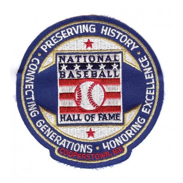 Baseball Hall of Fame Circle Logo Patch